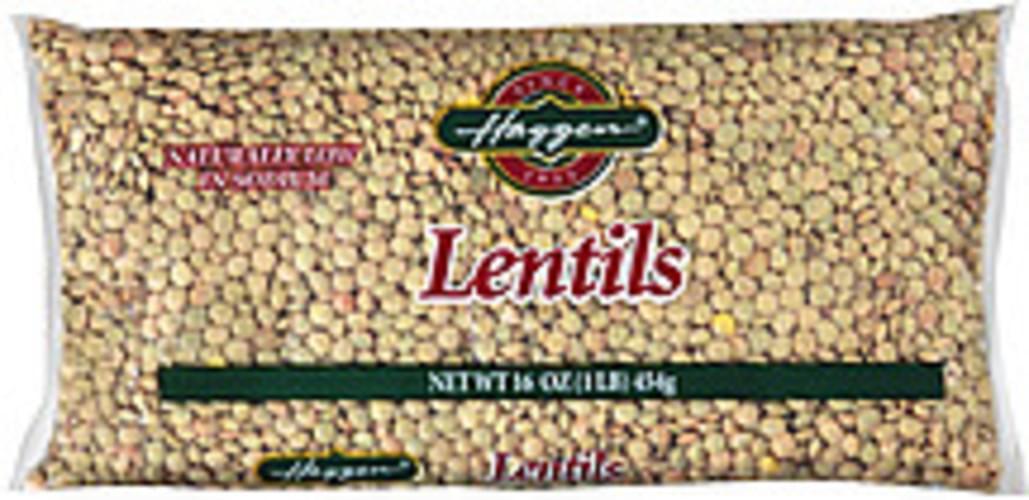 Haggen Lentils - 16 oz