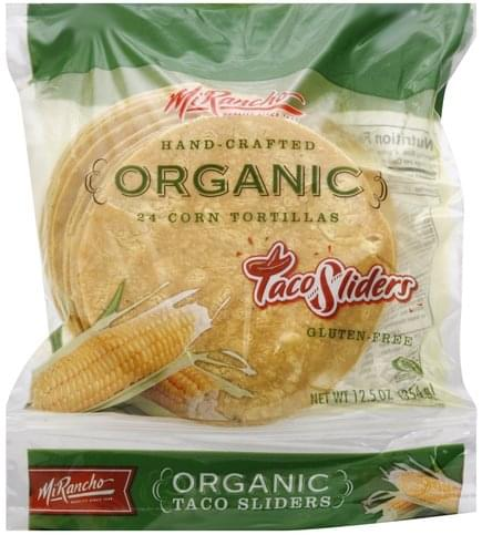 Mi Rancho Organic Corn Tortillas - 24 ea