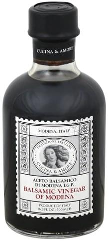 Cucina & Amore of Modena Balsamic Vinegar - 16.9 oz