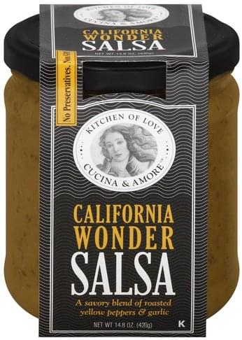Cucina & Amore California Wonder Salsa - 14.8 oz