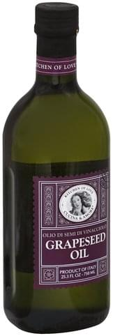 Cucina & Amore Grapeseed Oil - 25.3 oz