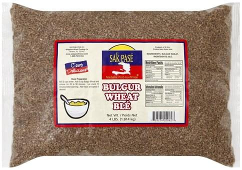 Sak Pase Bulgur Wheat - 4 lb