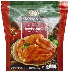 La Romanella Jumbo Shells with Cheese, Pre-Cooked