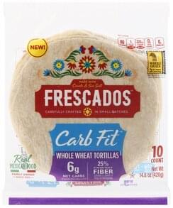 Frescados Tortillas Whole Wheat