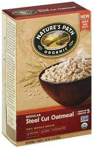 Natures Path Oatmeal Steel Cut, Regular