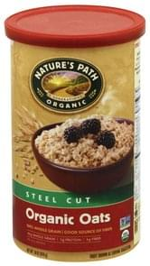 Natures Path Oats Organic, Steel Cut