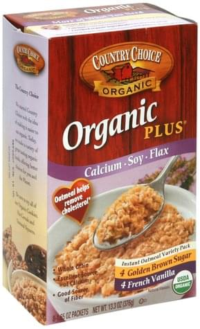 Country Choice Variety Pack Instant Oatmeal - 8 ea