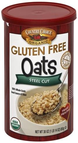 Country Choice Steel Cut Oats - 30 oz