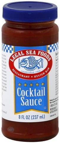 Legal Sea Foods Cocktail Sauce - 8 oz