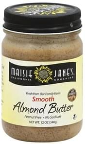 Maisie Janes California Sunshine Almond Butter Smooth