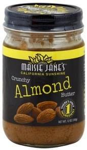 Maisie Janes Almond Butter Crunchy