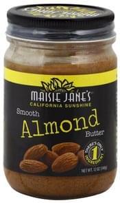 Maisie Janes Almond Butter Creamy