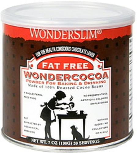 Wonderslim Fat Free Wondercocoa - 7 oz
