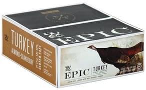 Epic Turkey Bar Almond + Cranberry