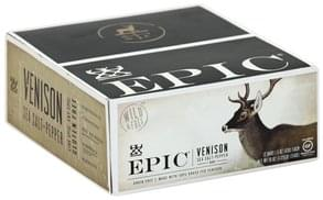 Epic Venison Bar Sea Salt + Pepper