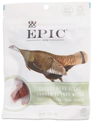 Epic Turkey Bites with Cranberry & Sage - 2.5 oz