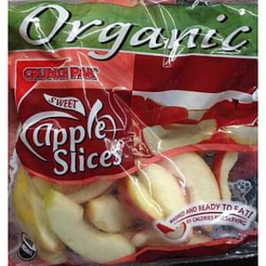 Organic Sweet Apple Slices