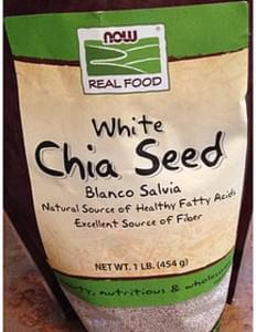 Now Real Food White Chia Seed