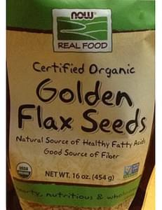 Now Real Food Golden Flax Seeds