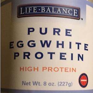 Life Balance Pure Egg White Protein