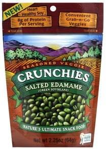 Crunchies Edamame Saled