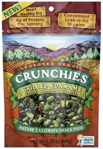 Crunchies Edamame Grilled