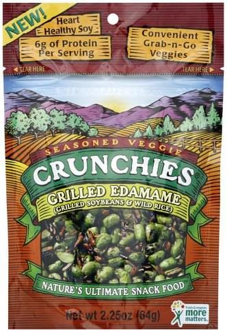 Crunchies Grilled Edamame - 2.25 oz