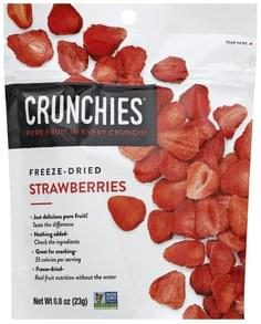 Crunchies Strawberries Freeze-Dried