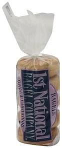 1st National Bagel Bagels Presliced, Raisin-Cinnamon