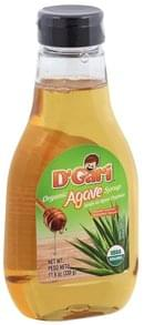 D Gari Syrup Organic, Agave