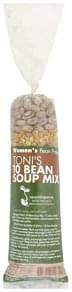 Womens Bean Project Soup Mix Toni's 10 Bean