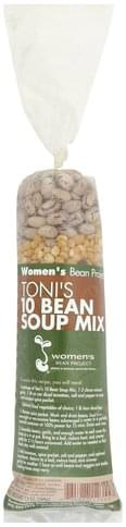 Womens Bean Project Toni's 10 Bean Soup Mix - 13 oz