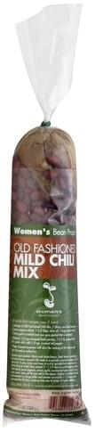 Womens Bean Project Old Fashioned, Mild Chili Mix - 13 oz