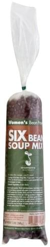 Womens Bean Project Six Bean Soup Mix - 13 oz