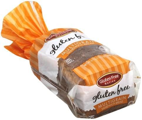 Gluten Free Nation Sandwich, Multigrain Bread - 21 oz