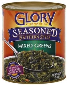 Glory Foods Mixed Greens Seasoned, Southern Style