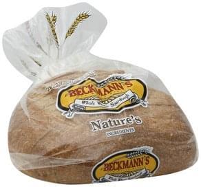 Beckmanns Bread Whole Wheat Sourdough