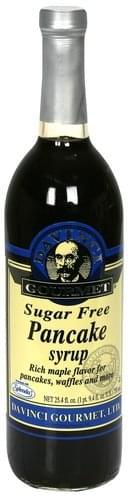 DaVi Gourmet Sugar Free Pancake Syrup - 25.4 oz