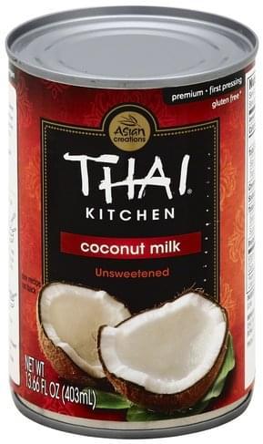 Excellent Thai Kitchen Premium Unsweetened Coconut Milk 13 66 Oz Interior Design Ideas Oxytryabchikinfo