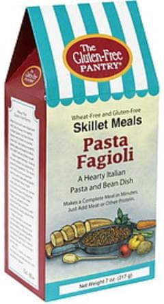 Gluten Free Pantry Skillet Meals Pasta Fagioli