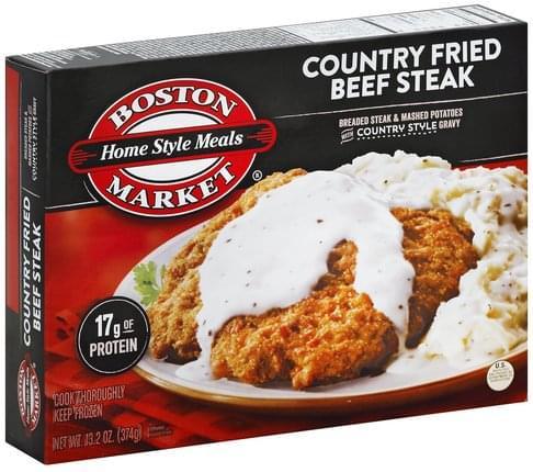 Boston Market Country Fried Beef Steak - 13 2 oz, Nutrition