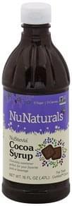 Nunaturals Cocoa Syrup NuStevia