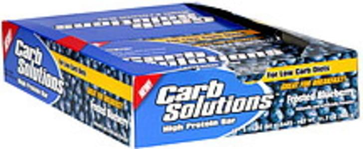 Carb Solutions High Protein Bar Frosted Blueberry