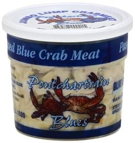 Pontchartrain Blues Crab Meat Blue, Jumbo Lump