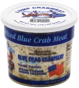 Pontchartrain Blues Crabmeat Blue Crab, Lump