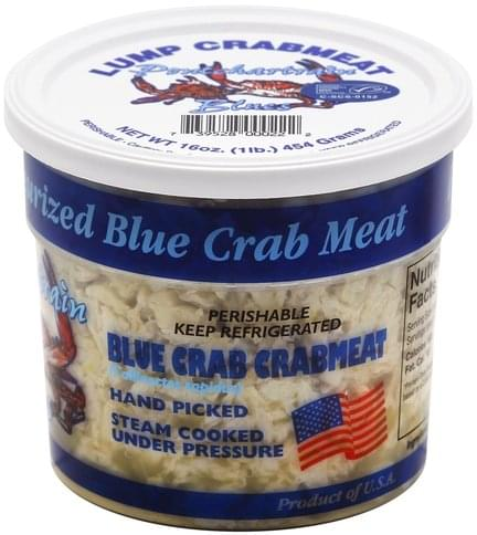 Pontchartrain Blues Blue Crab, Lump Crabmeat - 16 oz