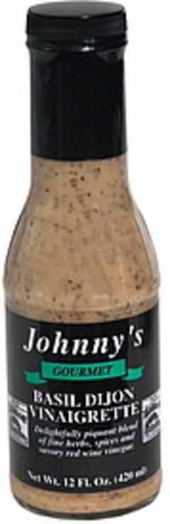 Johnnys Vinaigrette Basil Dijon
