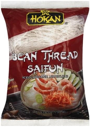 Hokan Bean Thread Saifun Cellophane Noodles - 3.75 oz