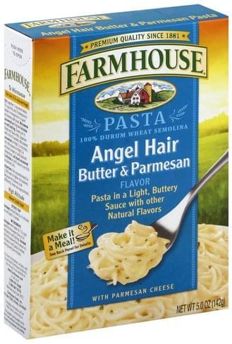 Farmhouse Angel Hair, Butter & Parmesan Flavor Pasta - 5 oz