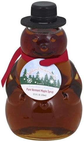 Highland Sugarworks Vermont, Amber Color Maple Syrup - 12.5 oz